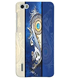 PrintVisa Corporate Print & Pattern Modern Art 3D Hard Polycarbonate Designer Back Case Cover for Huawei Honor 6
