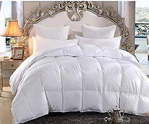 Merax White Box Stitched Alternative Lightweight Comforter Duvet Insert (Breathable King)