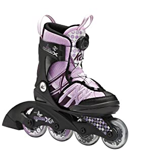 K2 Charm X Boa Adjustable Girls Inline Skates 2014 by K2