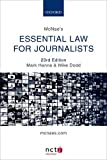 img - for McNae's Essential Law for Journalists book / textbook / text book