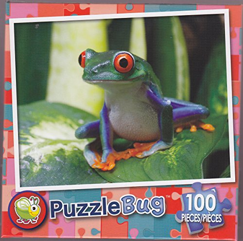 Puzzlebug 100 ~ Smiling Frog - 1