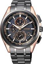 [シチズン]CITIZEN 腕時計 ATTESA アテッサ 【数量限定2,000本】 エコ・ドライブ電波時計 【LIGHT in BLACK】シチズンが創り出す様々な「時」をエコ・ドライブを搭載する5つのモデルで伝えるブランド横断企画。 AT8044-64E メンズ