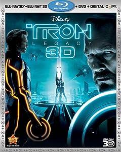 Tron: Legacy (Four-Disc Combo: Blu-ray 3D / Blu-ray / DVD / Digital Copy) by Walt Disney Pictures