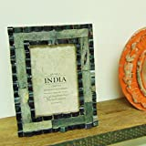 Casa Decor ANTIQUE WINDOW PHOTO FRAME Hanging Or Table Top Decorations With Rustic Design Vintage Look - 4x6 Inch