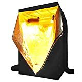 """Grow Tent 48""""x48""""x78"""" Reflective Mylar Hydroponics Hut Cabinet Room with Zipper and Window View For Indoor Plant Flower Vegetable Growing Gardening Greenhouse"""