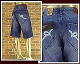 ロカウェア ROCAWEAR BIG SIZE ビックサイズ バギーフィット デニム ショートパンツ メンズ R1201J200Sバギー