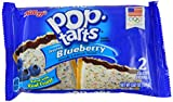 Kellogg's Pop Tarts Frosted Blueberry Twin Pack 3.67 OZ (104g) (pack of 6)