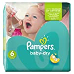 Pampers Baby Dry Nappies, Size 6 (Tot...