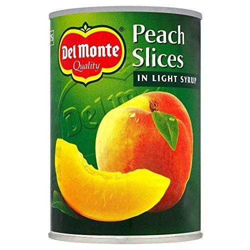 Del Monte Peach Slices In Light Syrup (420G)