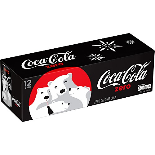 Coca-Cola Zero, 12 PK, 12 Fl oz Cans (Canned Soda compare prices)
