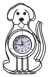 Dog Tabletop Clock