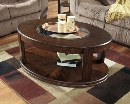 Oval Coffee Table Online Stores Sanders Oval Cocktail Table By - Ashley furniture oval coffee table
