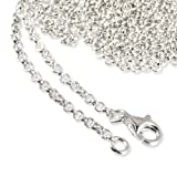 SilberDream 925 Sterling Silber Charm Halskette 80cm Kette fr Charms Armband Anhnger FC00288-1von &#34;SilberDream&#34;
