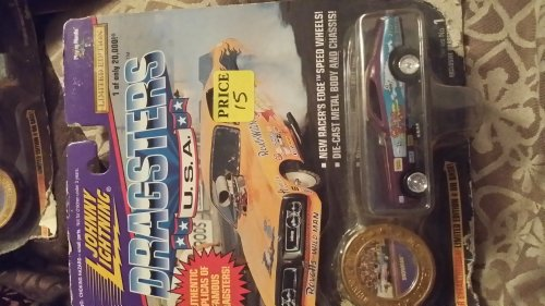 Johnny Lightning Dragsters USA Snowman Series 2 1:64 - 1