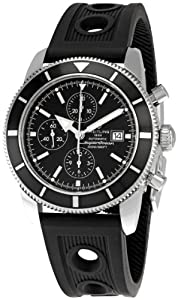 Breitling Men's BTA1332024-B908BKRD Superocean Heritage Black Dial Watch by BRIT ARCH OF COUNTRY