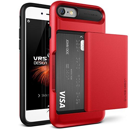 vrs-design-funda-iphone-7-damda-glideapple-rojo-wallet-card-slot-caseheavy-duty-proteccion-cover-par