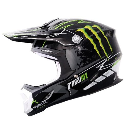 O'Neal 7Series Monster DH Helmet - Black/Green