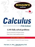 img - for Schaum's Outline of Calculus, 5th ed. (Schaum's Outline Series) 5th (fifth) Edition by Ayres, Frank, Mendelson, Elliott (2008) book / textbook / text book