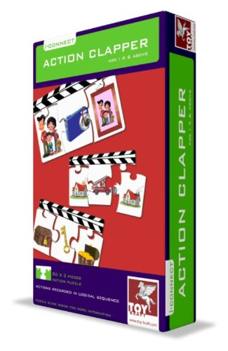 ToyKraft Action Clapper