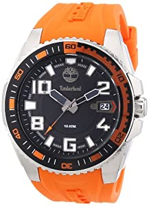 Timberland Herren-Armbanduhr XL Analog Quarz Silikon TBL.13900JS/02