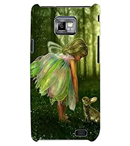 ColourCraft Baby Angel Design Back Case Cover for SAMSUNG GALAXY S2 I9100