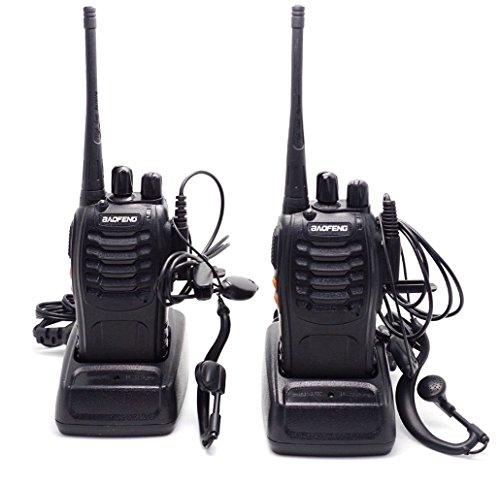 Baofeng BF-888S Walkie Talkie Two-Way Radio Outdoor Radios Long Range Headset (2 PCS) (Walkie Talkie Long Range compare prices)
