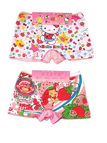 2-x-Cartoon-Girls-Knickers-Boxers-Underwear-3-10-Years