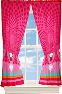 Sanrio Hello Kitty Love Kitty 63-inch Drapes by Franco Manufacturing Co., Inc.