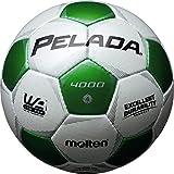 molten(モルテン) ペレーダ4000 [ Pelada4000 ] EXCELLENT DURABILITY 4号球 白+緑 F4P4000-WG