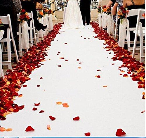 1000pcs Faux Pétales de rose fleur en Soie pour Mariage Décorations acide tartrique