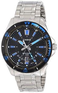 Casio Men's MTD-1066D-1AVDF Core Analog Display Quartz Silver Watch