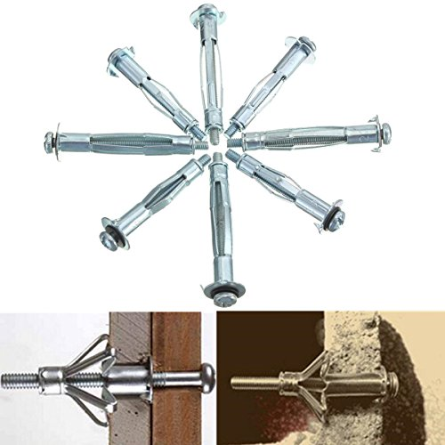 saver-10pcs-metal-m4-plasterboard-drywall-cavity-wall-anchors-brolly-plug-fixings-tool