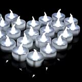 AGPtek® 100 Battery-Operated Tea Light LED Candles for Wedding Party