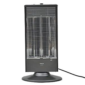 山善(YAMAZEN) 遠赤外線シーズヒーター(1000/500W 2段階切替) 自動首振り機能付 グレーメタリック DB-J102(H)
