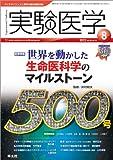 実験医学2012年8月号 Vol.30 No.12「世界を動かした生命医科学のマイルストーン」