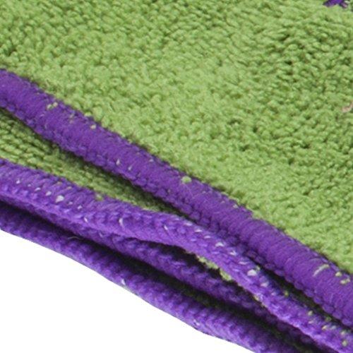 Sivan Health And Fitness® 100% Microfiber Non-slip Yoga Towel and Hand Towel Set (24
