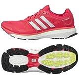 adidas(アディダス) ランニングシューズ energy boost 2 レディース ビビッドベリーS14/パールメットS14/グロー 11
