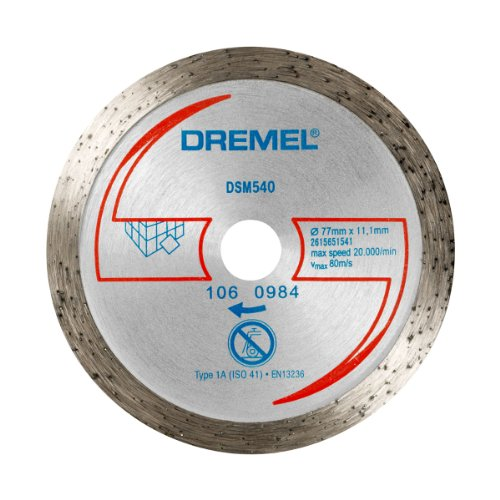 Dremel Fliesen-Diamant-Trennscheibe DSM540 77 mm