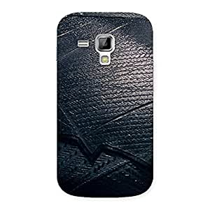 Stylish Knight Suit Black Print Back Case Cover for Galaxy S Duos