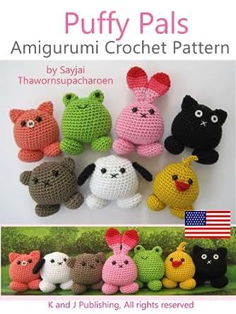 Amigurumi Magazine Subscription : Amazon.com: Puffy Pals Amigurumi Crochet Pattern (Easy ...