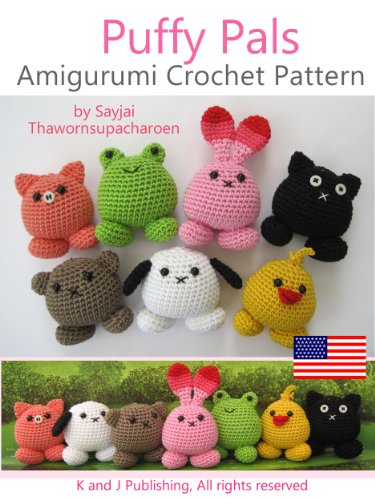 eBook Puffy Pals Amigurumi Crochet Pattern (Easy Crochet ...