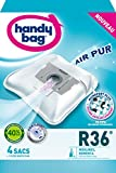 Handy Bag R 36 Sac Aspirateur Microfibre Anti-allergène + Filtre Moteur Rowenta Artec 2 Silence force