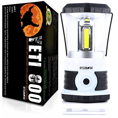 Internova-Yeti-800-Monster-LED-Camping-and-Emergency-Lantern-Massive-Brightness-with-Tri-Strip-Light-Available-Backpacking-Hiking-Auto-Home-College-Himalayan-White