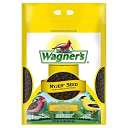 Wagner\'s 62053 Nyjer Seed Bird Food, 20-Pound Bag
