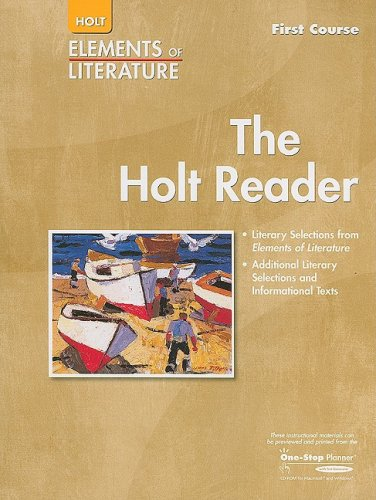 Elements of Literature: Reader Grade 7 First Course