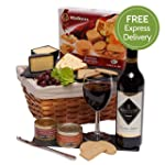 Wine, Cheese and Pate Hamper - Luxury...