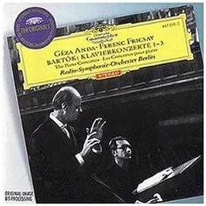 Bartok: The Piano Concertos / Anda, Fricsay, Radio Symphony Orchestra Berlin