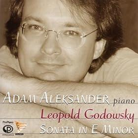 Leopold Godowsky: Sonata in E Minor