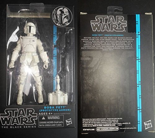 New In Box Star Wars Black Series Boba Fett Prototype Armor Action Figure