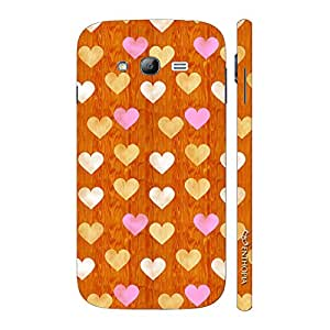 Enthopia Designer Hardshell Case Little Hearts Back Cover for Samsung Galaxy Grand 2